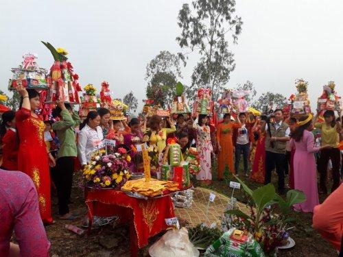 Lễ hội Phủ Tía - tôn vinh khí phách anh hùng của hậu thế đối với Bà Triệu