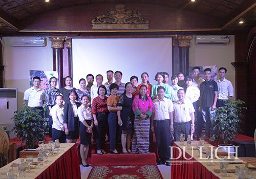 Chương trình giao lưu có sự hiện diện của Lãnh đạo Hiệp hội Du lịch Ninh Bình và 30 doanh nghiệp lữ hành, khách sạn, khu nghỉ dưỡng, vui chơi giải trí tỉnh Ninh Bình